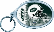 New York Jets NFL Acrylic Key Ring