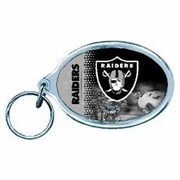 Oakland Raiders NFL Acrylic Key Ring