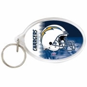 San Diego Chargers NFL Acrylic Key Ring