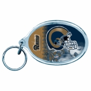 St. Louis Rams NFL Acrylic Key Ring