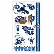 Tennessee Titans NFL Temporary Tattoos