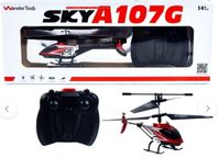 WonderTech SKY A107G 3.5 CH Remote Control Metal Helicopter (Red)