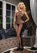 Bodystocking Fishnet Halter #8509