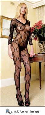 Bodystocking Lace Bows #8045