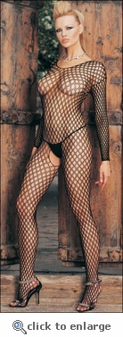 Bodystocking Open Holes Net #8748
