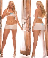 Plus Size Bridal Lingerie Set
