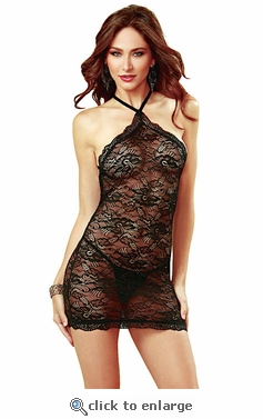 Chemise Stretch Lace