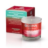 Massage Candle Kissable Strawberry Souffle