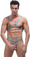 C-Ring Tear Off Harness Turquoise