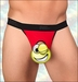 Men's Crotchless Micro Thong Red