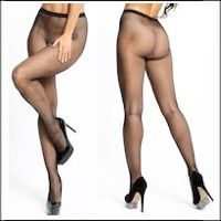 Fishnet Crotchless Pantyhose Seamless