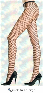 Net Pantyhose Honeycomb