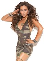 Patriotic Lingerie Army Supporter