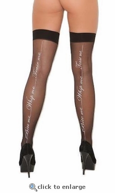 Stockings with BDSM Theme