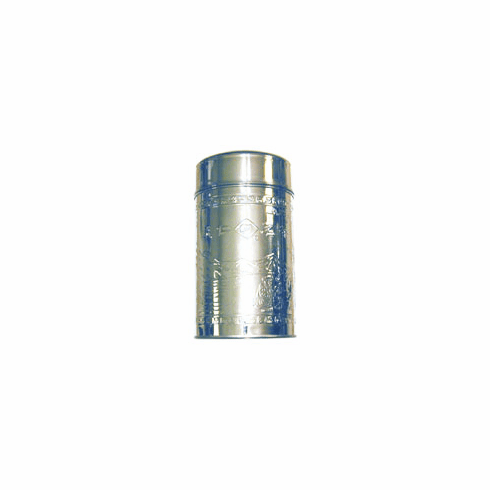 8 oz Stainless Steel Canister