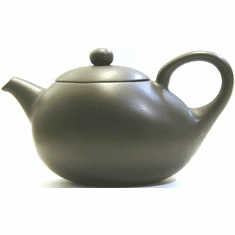 Black Clay Teapots