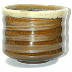 Brown Japanese Cup
