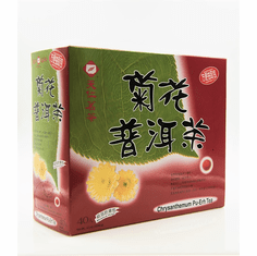 Chrysanthemum Pu-Erh Whole Leaf 40 Teabags