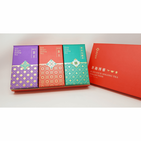Elegance Oolong Tea Collection Gift Set