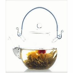 Glass and Other Colored Teapots