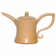 Golden Cha for Tea Pot by LuYu