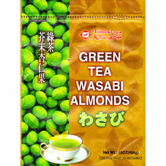 Green Tea Wasabi Almonds (Limited)