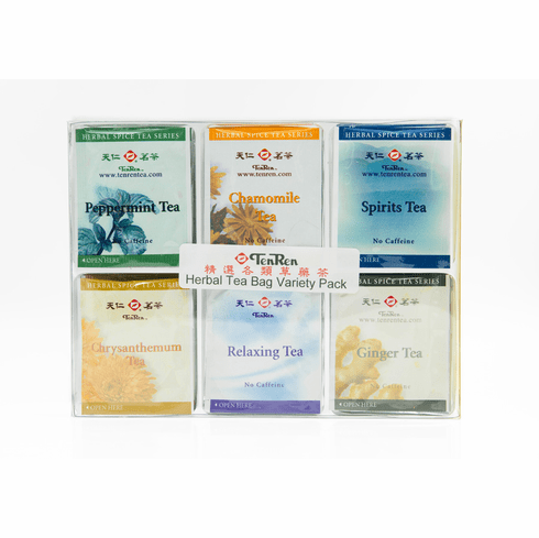 Herbal & Spice Tea Bag Variety Pack