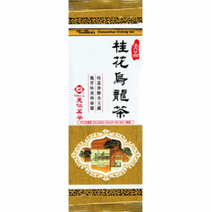Osmanthus Oolong Tea Bar