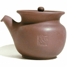 Purple Clay Tea Pitcher with Infuser