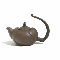 Purple or Violet  Clay Teapots