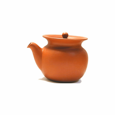 Red Clay Tea Pitcher with Infuser