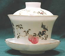 Red Peaches Jasmine Cup (Gaiwan)