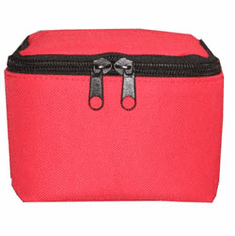 Red Travel Pouch for Teapot