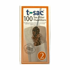 T-Sac 100 Tea Filter Bags (Size 2)