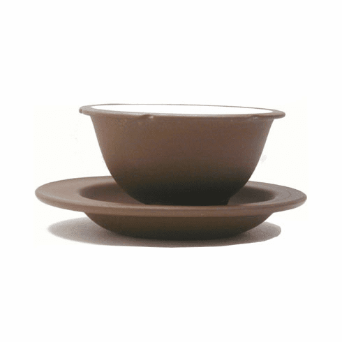 Wishing Well Tea Cup with Saucer