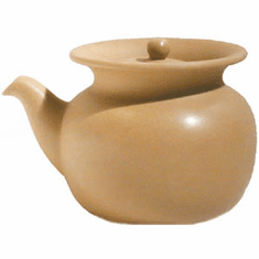 Yellow Clay Tea Pitcher with Infuser