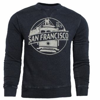 NEW Crew Neck Design Anchor Navy Color