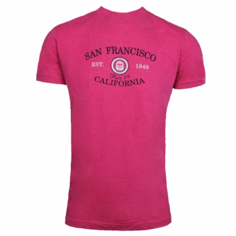 San Francisco Cable Car Mason Est. 1848 Heather Fuchsia