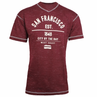 SF 1848 Est. West Coast Line Maroon Color