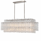 14 Lamp Synphonia Chandelier - Clear Glass