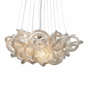 "18"" Infinity Chandelier - Champagne"
