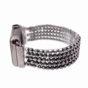 SOLD OUT Apple Watch Bullet Silver Bracelet Band
