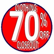 Clothing BLOWOUT Clearance Sale