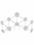 CRISLU Constellation Bridal Hair Pin