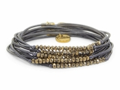 Erimish Black Gold Slinky Bracelet Pack - SPECIAL OFFER