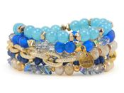 Erimish Blueberry Bracelet Stack - SPECIAL OFFER
