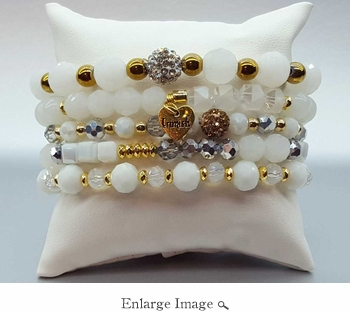 Erimish Bracelet Whipped Bracelet Stack - SPECIAL OFFER