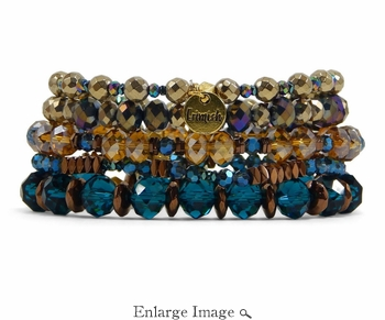 Erimish Dahlia Bracelet Stack (Retired) - SPECIAL OFFER