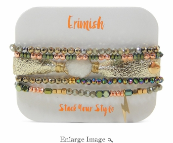SOLD OUT Erimish Druzy Gold Bracelet Pack - WINTER CLOSEOUT