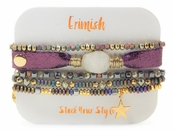 Erimish Druzy Purple Bracelet Pack - SPECIAL OFFER